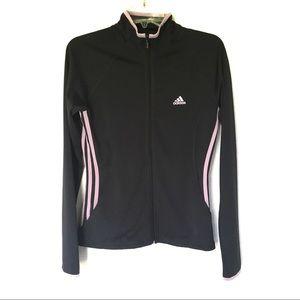 Adidas | Gray Lavender Full Zip Lightweight Jacket